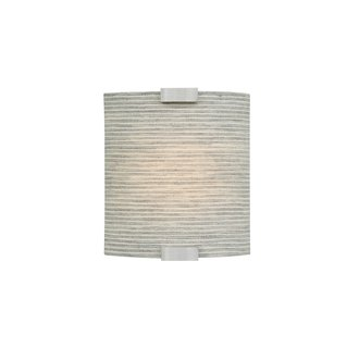 LBL Lighting Omni Cover Small Pewter LED 277V 1 Light Wall Sconce ...
