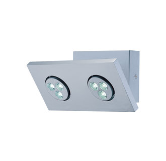 Lite Source LS-16102 Contemporary / Modern Six Light Down Lighting LED Wall Lamp from the Zella Collection