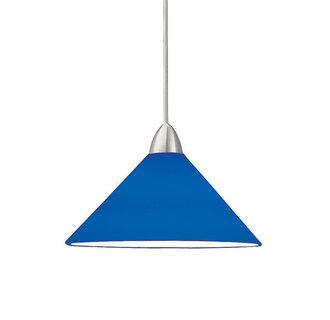 mp led512 blbrushed_nickel blue pendant lighting