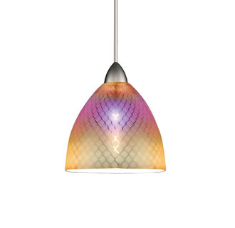 WAC Lighting MP-LED546-DIC LED Monopoint Ambrosia Pendant with Dichroic Glass - Canopy Included