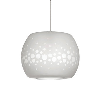 Wac lighting mp led548 led monopoint pura pendant with frosted mp led548frostedbrushednickel aloadofball Gallery