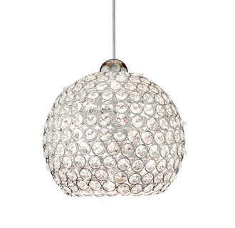 WAC Lighting MP-LED335 LED Roxy Monopoint Pendant - Canopy Included