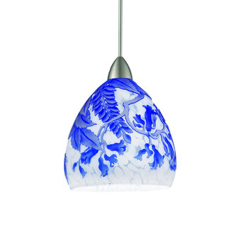 WAC Lighting MP-LED536 Asian Canopy Mount LED Pendant from the Cameo Collection