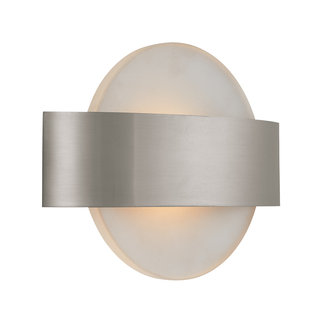 Alico Lighting WS9020-10 Contemporary / Modern 1 Light Wall Sconce from the Saturn Collection