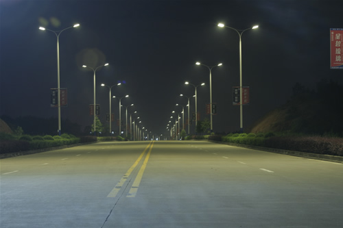 LED street lights advantages compared to the traditional