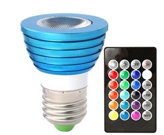 3 Watt Color-Changing LED Light Bulb – LED Lighting Blog