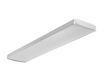 4 ft. Flush-Mount Ceiling White LED Wraparound Light