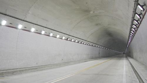 LED tunnel lights lighting design and application
