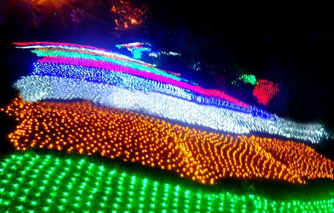 led strip lights smd5050 60pcs 144w christmas lights flexible for saving energy