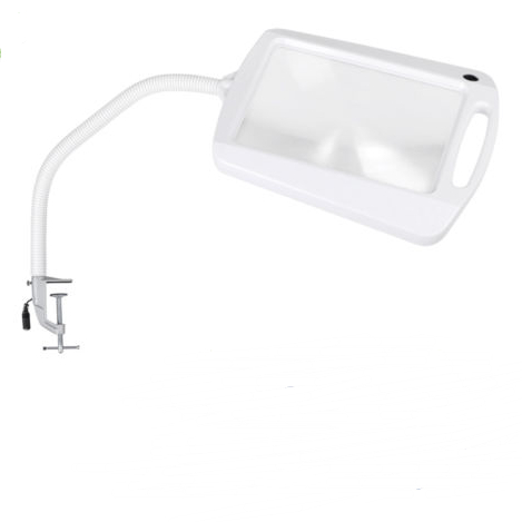 Clamp On Daylight LED Craft Reading Work Magnifier Light
