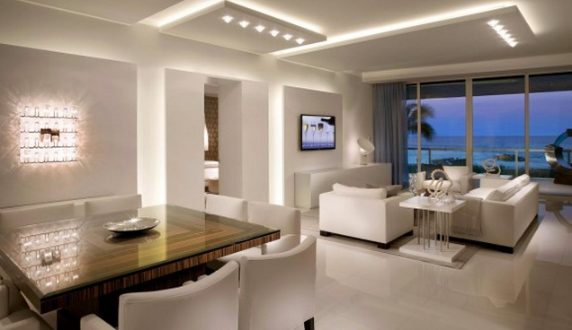 Popular style LED interior lighting design