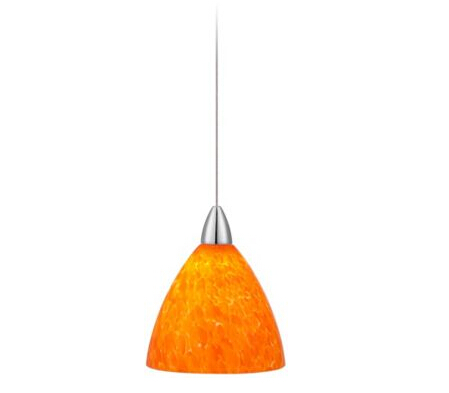 Art Glass LED Possini Euro Mini Pendant Light