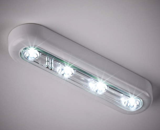 Cool White Led Touch Operated Battery Cupboard Light Led