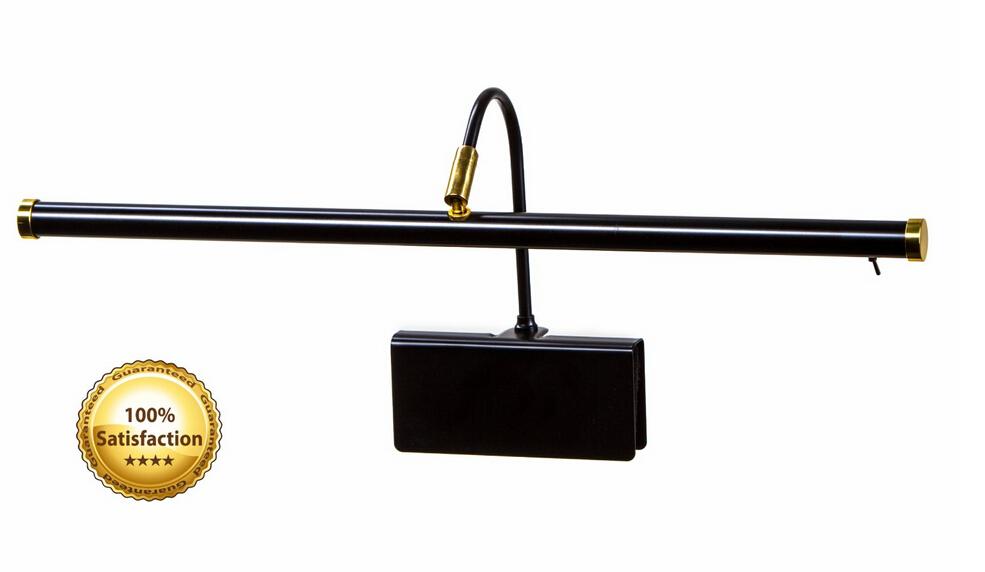 Portable 19″ LED Piano Lamp Black – LED Lighting Blog