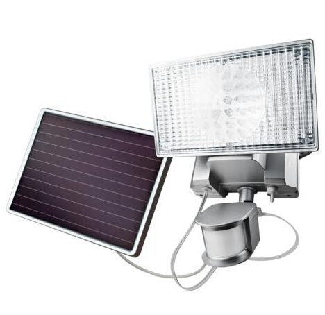 Solar powered led floodlight