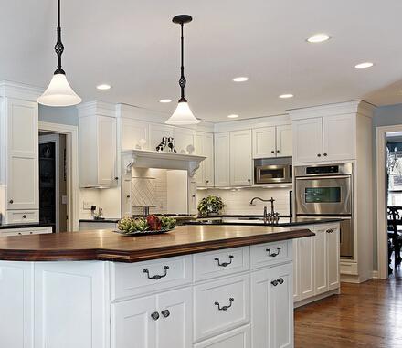 2-Pack 65-Watt White LED Recessed Downlights