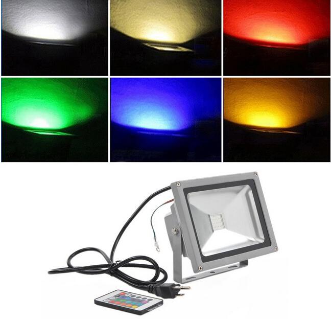 20w Rgb Color Changing Led Flood Light Led Lighting Blog