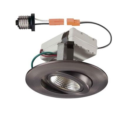 4 in. Recessed Gimbal LED downlight