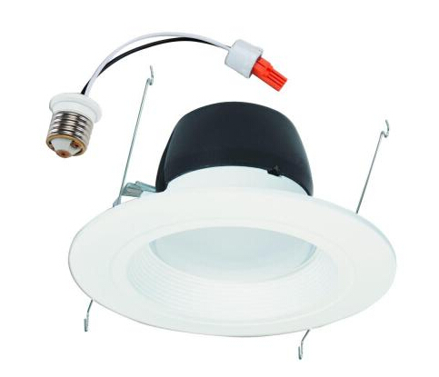 White Recessed Retrofit Trim LED Module