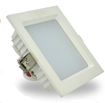 how to change square led downlight