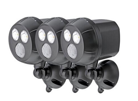 300 Lumen Outdoor Wireless Motion Sensing LED Spot Light