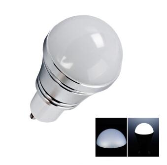 GU10 3W Pure White LED Light Bulb