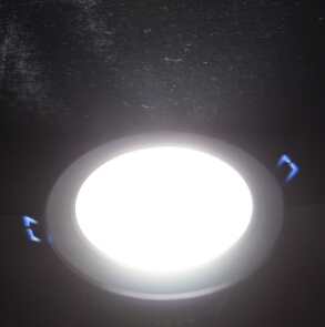7W 6500K White Light Wide Volts LED Downlight