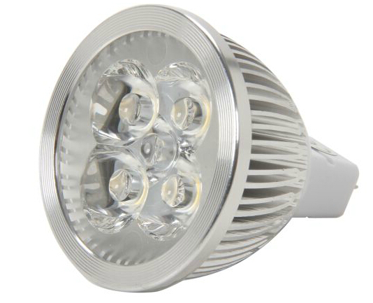 4 Watt 25 watt Halogen replacement MR 16 LED Lamp