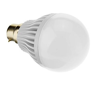 B22 7W 3200K Warm White LED Bulb