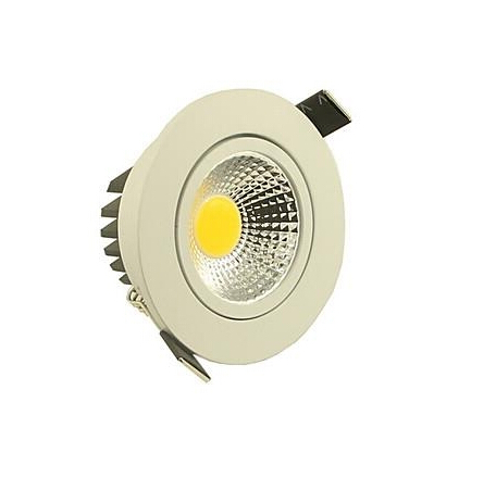 Dimmable 5W 500LM Warm White LED Downlight