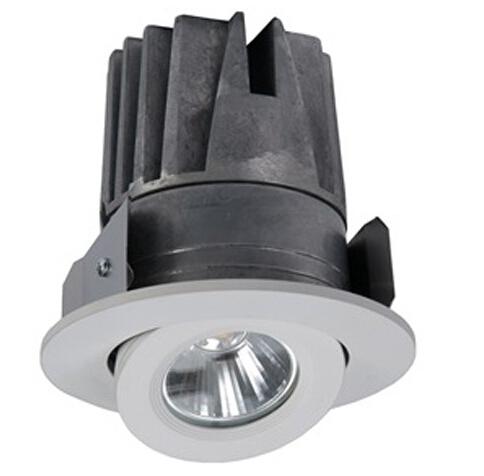 Adjustable Recessed Round Gimbal Trim LED Down Light