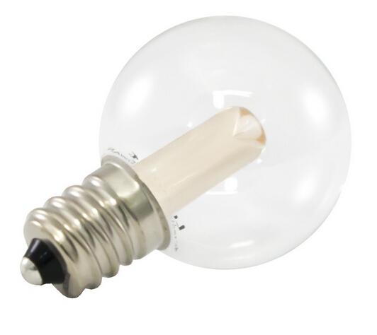 Globe LED Blub G30 0.5W 120V E12 2700K Warm White