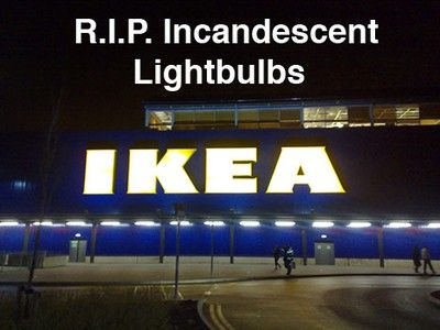 IKEA announced that non-LED bulb was stopped sale from September 1