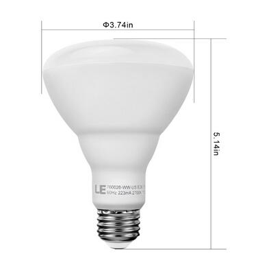 15W BR30 E26 LED Flood Light Bulb