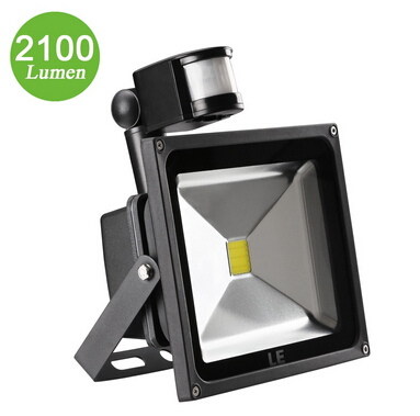 30W Motion Sensor Security Light 2100lm Super Bright