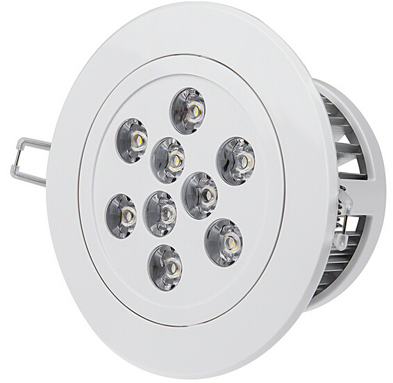 Dimmable 9 Watt LED Downlight Fixture
