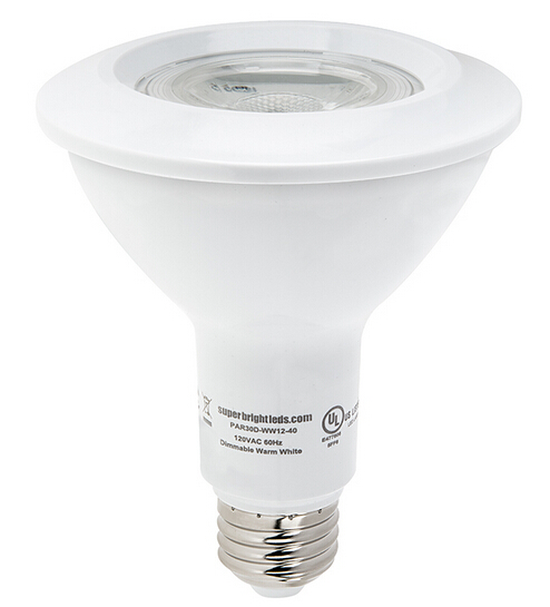 PAR30 LED Bulb - 12 Watt - Dimmable LED Spotlight