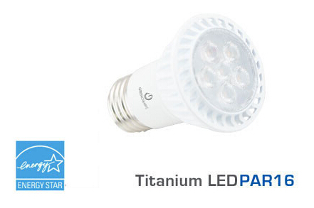 GREEN 6 Watt PAR16 LED Bulbs Light