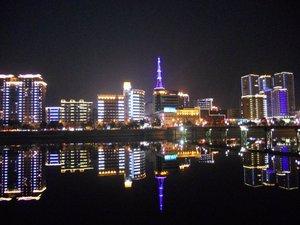 Shangrao City Street facelift hundred LED lights