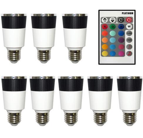 LED Color Changer E27 LED Bulb