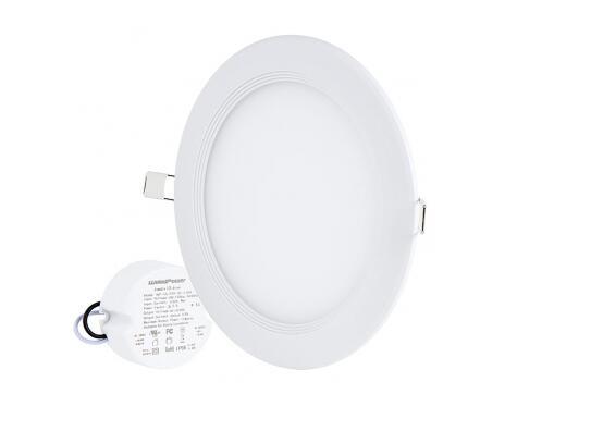 6 100 watt round led panel light led lighting blog. Black Bedroom Furniture Sets. Home Design Ideas