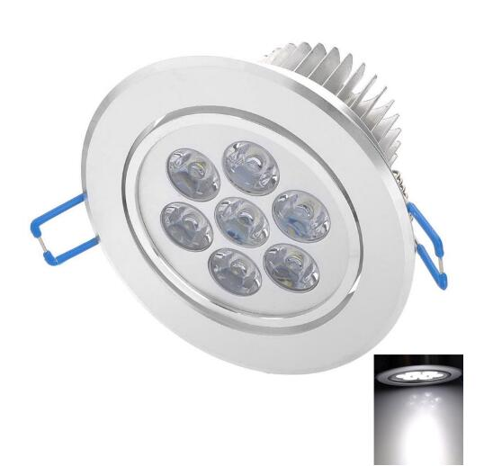 7W 600LM 6500K LED Ceiling Light