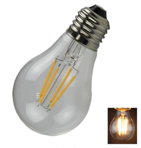 A60 400LM Warm White LED Light Bulb