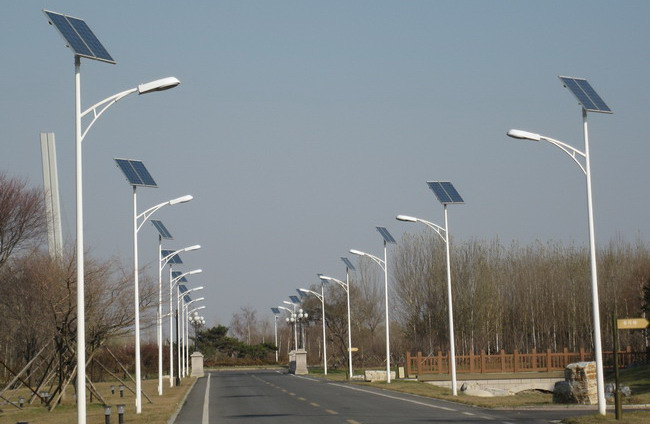 China Nansha Village will be equipped with 400 LED street lights