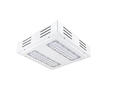 Square Surface Mount 60W LED Canopy Lights
