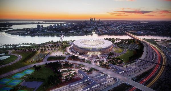 Philips installs intelligent interconnected LED lighting system for Perth Stadium in Australia