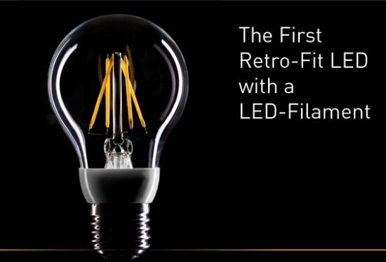 LED filament light development prospects bright in 2017