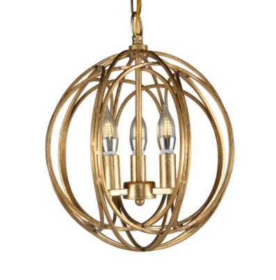 Decoration Pendant Light Iron Chandelier with Three Light