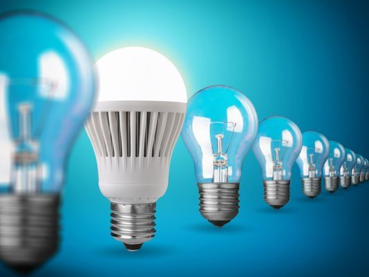 How much can I save if use LED bulbs for 10 years?