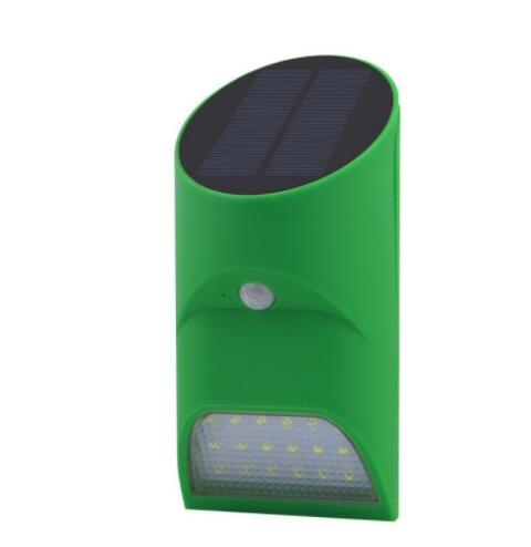 Solar Power Human Body Sensor LED Wall Light